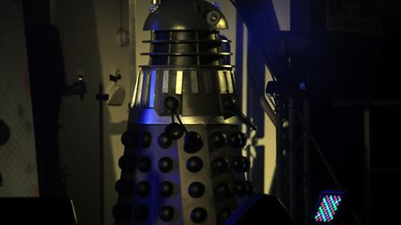 Nicholas provides the voices for the Daleks in Doctor Who