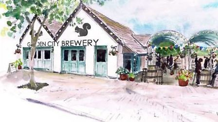 An artist's impression of the Garden City Brewery, which will open on June 11 to coincide with the l