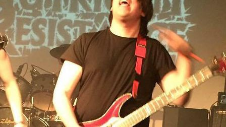 Outright Resistance are an up and coming band from Stevenage who had their van and equipment stolen