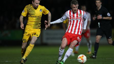 Michael Tonge has been used as an example by Darren Sarll of just what it takes to force your way in