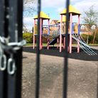 This Stevenage play area in Bray Drive has been padlocked for more than a decade.