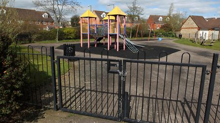 The play area in Bray Drive is believed to be the responsibility of a developer when it built homes