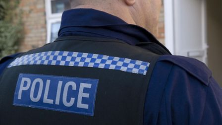Police arrested a man after an incident in Hitchin.