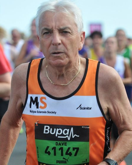 David Mollon took on the Great North Run to raise funds for the Multiple Sclerosis Society.