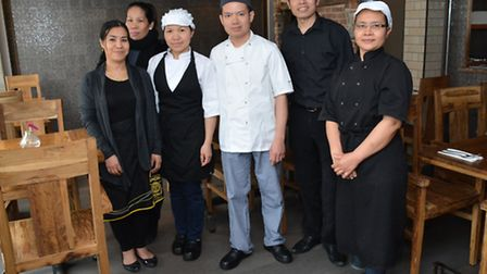The day team at Sala Thong in Stevenage Old Town.