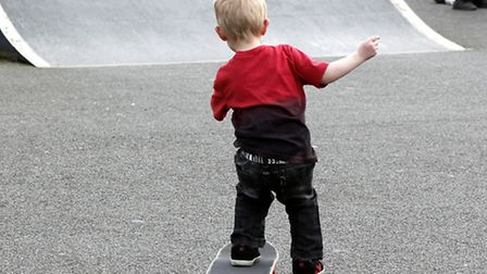 A group of young people at Biggleswade Skate Park are keen for improvements to be made at the site.