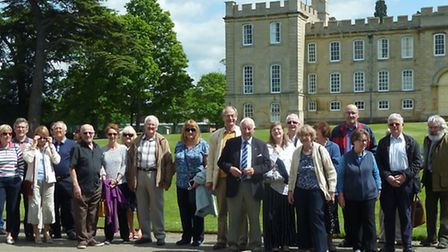 Sandy Historical Research Group at Kimbolton Castle