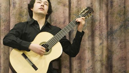 Guitarist Sean Shibe is the latest guest of the Weston Music Society