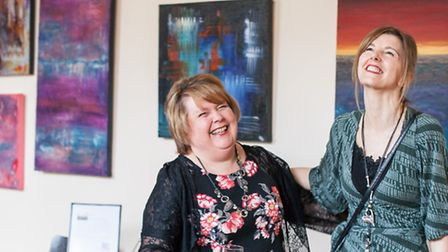 Lisa Price and Karen Mangold will be exhibiting their work at the Arts and Heritage Centre in Baldoc