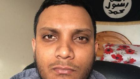 Junead Khan, 25, who was arrested in Letchworth last year, and has now been sentenced to life in jai
