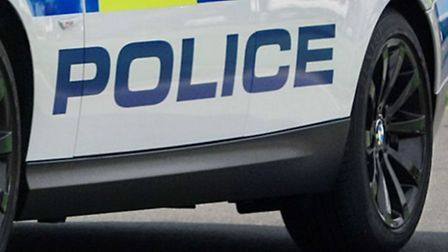 A man has been arrested on suspicion of making threats to kill in Hitchin.