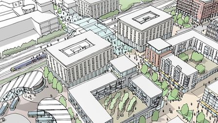 Images of what the town centre could look like if Stevenage First's plans are realised.