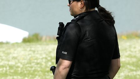 A body was found at Fairlands Valley Park in Stevenage this morning