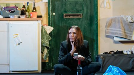 Samantha Womack as Rachel Watson in The Girl on the Train. Picture: Manuel Harlan