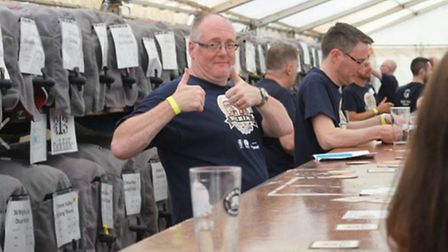 The Hitchin Beer and Cider Festival 2016 gets the thumbs up!