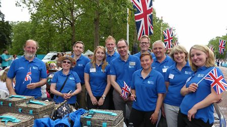 The RSPB at the Queens 90th celebrations in The Mall on Sunday. Photos by David Tipling