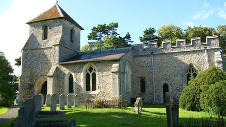 Thieves have targeted Clothall's historic Church of St Mary the Virgin. Photo: Peter O'Connor