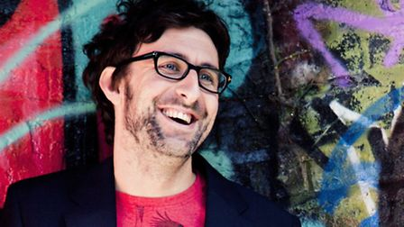 Comedian and author Mark Watson is appearing in Stevenage in June