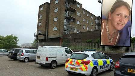 Nicola Collingbourne, 26, was found at her home address in Ivel Court, Letchworth, and was pronounce