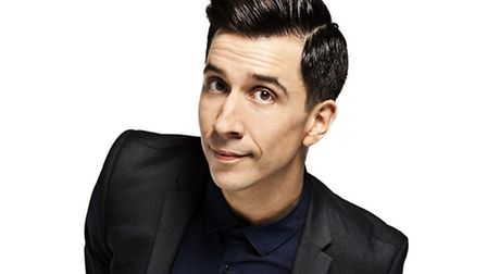 Russell Kane is one of the stars of the 2016 Hitchin Festival