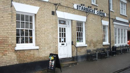 Starbucks in Saffron Walden, which has left customers angry over lump sum withdrawals - and now doub