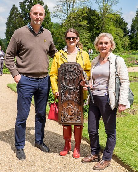 Philippa Whalley, (right) with Caroline Whalley and Marcus Lindfors