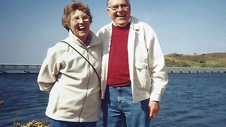 James Bryant and wife Evelyn in happier times