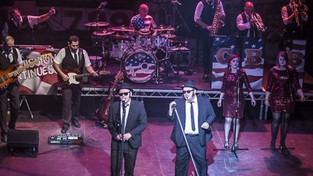Tribute act The Chicago Blues Brothers are coming to Stevenage's Gordon Craig Theatre.