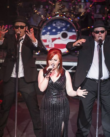 The Chicago Blues Brothers are to show off their new moves perform at the Gordon Craig Theatre in St