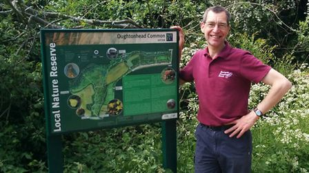 Health walk leader David Cannon said that volunteering has made him fitter and stronger.