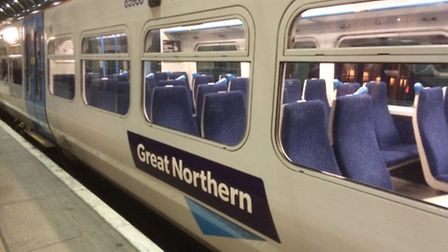 Great Northern have said that train delays could last all day from Hitchin.