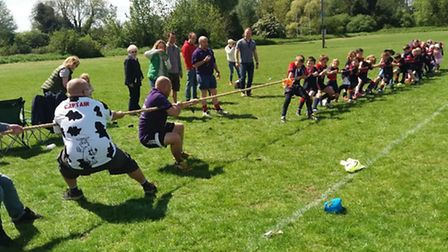 Biggleswade Rugby Club held its first mixed tag rugby festival earlier this month.