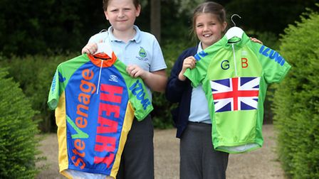 Competition winners, George Francis and Amber Harris