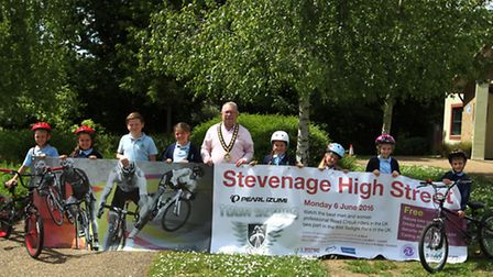 The international Pearl Izumi cycling race is coming to Stevenage on Monday, June 6.