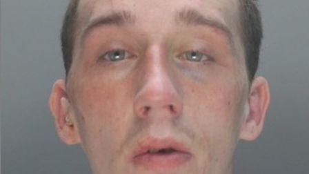 Liam Tristram was sentenced to two years in prison for burglarly.