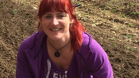 Lea Ellis is urging people who think they may be able to spare some time to help transform the plot