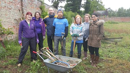 Stevenage-based Neilson went along for a corporate volunteer event at the garden project.