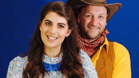 Lucy Walker and Simon Latter take leading roles in the Letchworth Arcadians production of Oklahoma!