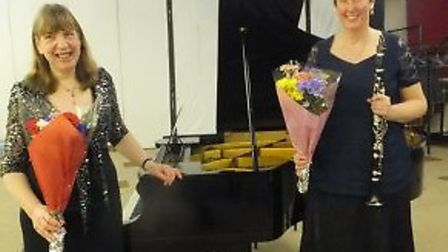 Anna Le Hair and Alison Eales will be performing at the next Friends Music concert in Welwyn Gardne
