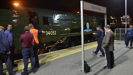 Sunday's Peak Forester special train from London to Matlock literally ran out of steam at Stevenage.