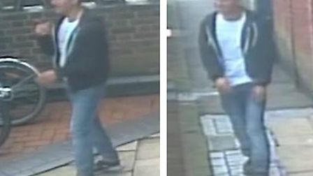 Police would like to speak to this man following a sexual assault and a related incident in Letchwor