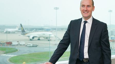 Stansted airport CEO Andrew Cowan.