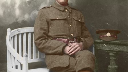 Private (later Lance-Corporal) Edward Croft.