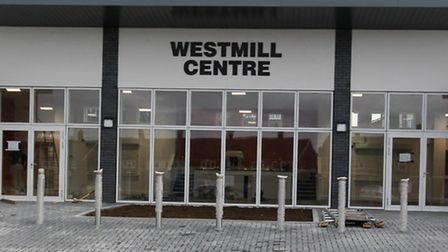 The new but as yet unopened Westmill Community Centre.