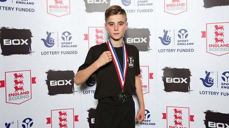 Patrick Connors. Picture by Chris Bevan/England Boxing