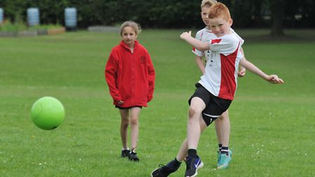 Norton School take part in the Fearnhill School track and field athletics day