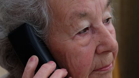 Dolores O'Grady, 85, was contacted by scammers who tried to get her card details before she realised