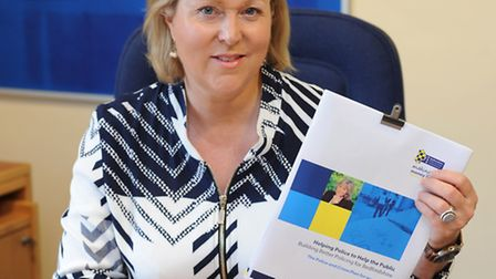 Beds PCC Kathryn Holloway has launched the Police and Crime Plan for Bedfordshire.