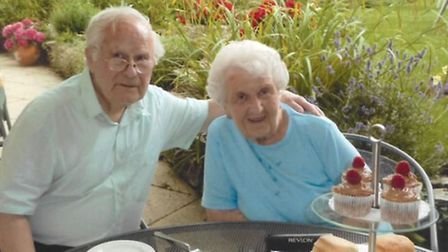 William and Joan Barker are celebrating their 70th wedding anniversary.