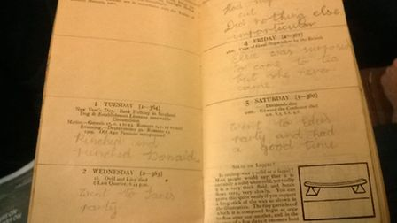 Letchworth girl May Stewart's 1929 diary, which was found in Italy in the 1990s and is now in the po